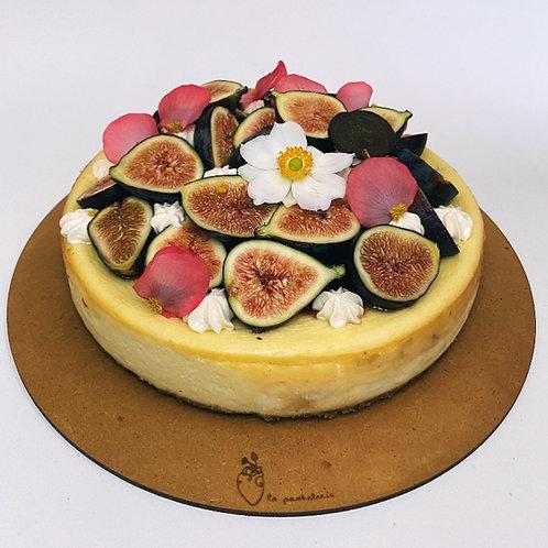 Cheesecake con higos