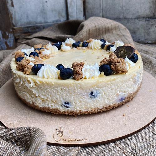 Cheesecake con blueberries