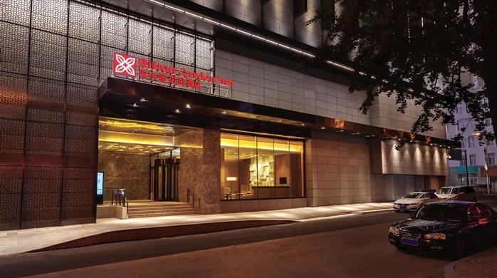 Socialight Hilton Garden Inn Dandong Exterior2