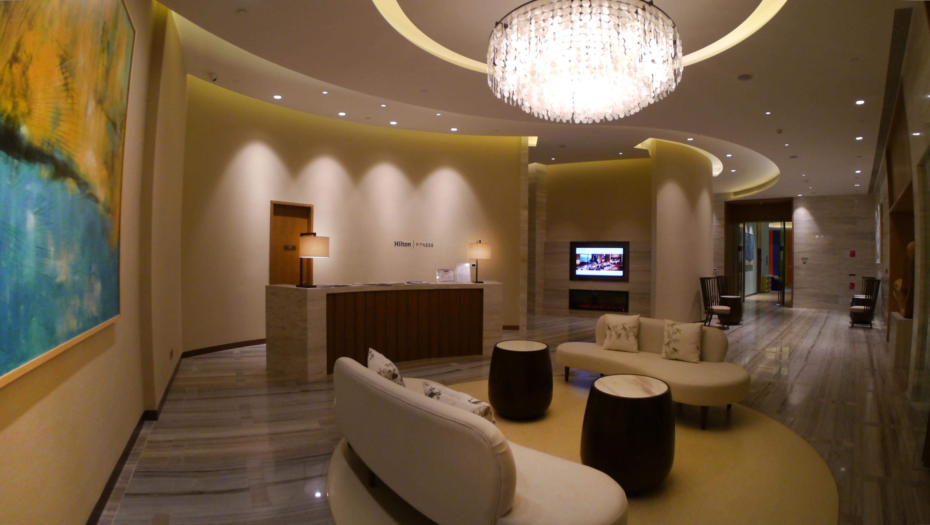 Socialight 13 Hilton Fuxian Lake Fitness Centre
