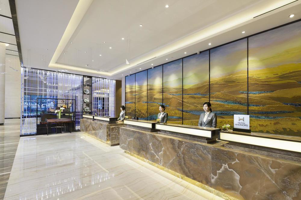 Socialight Hilton Zhuzhou Reception
