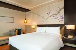 Socialight Hilton Garden Inn Dandong Guestroom