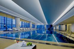 Socialight Hilton Zhuzhou Swimming Pool.