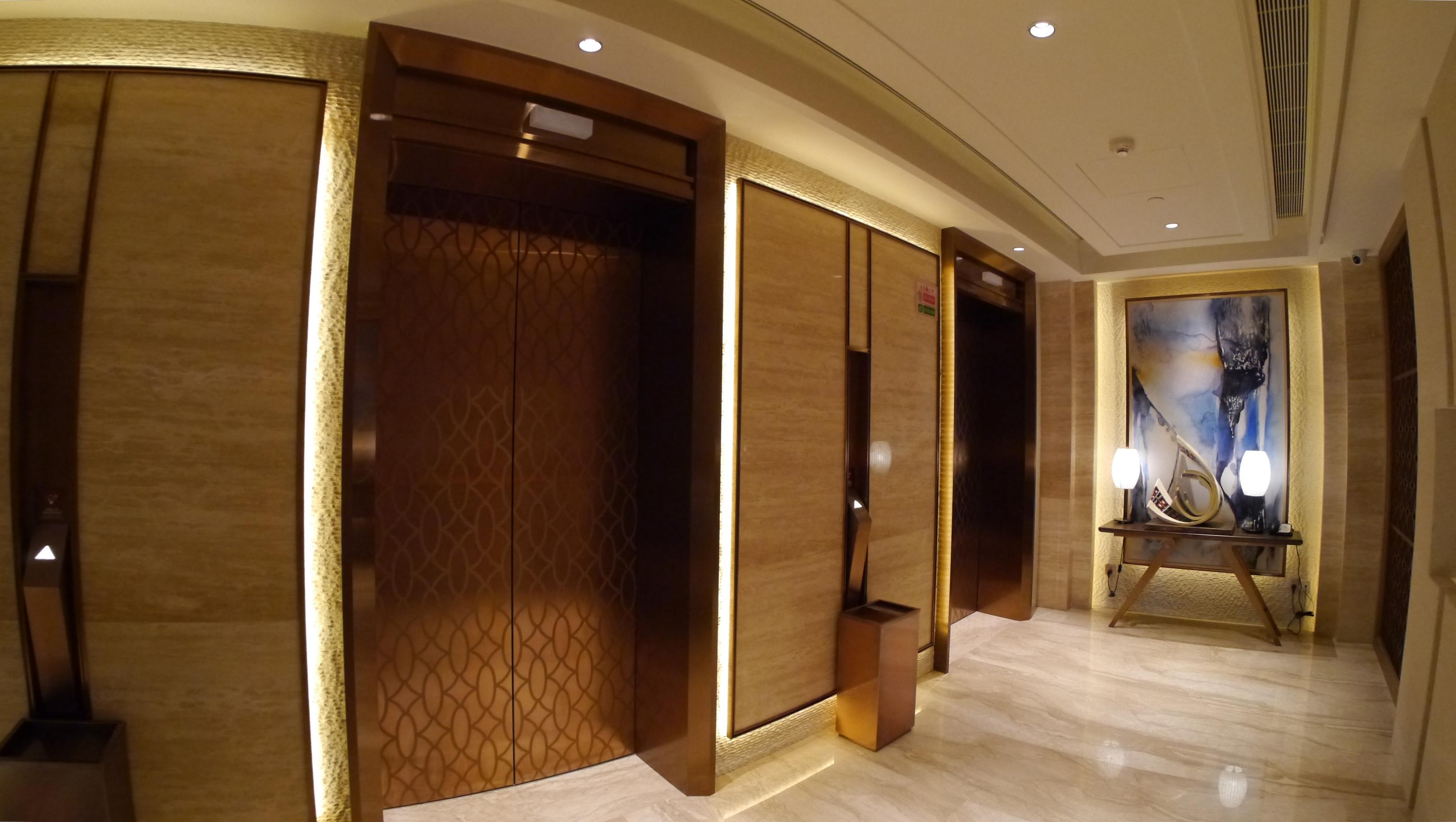 Socialight 8 Hilton Fuxian Lake Lift Lobby 1