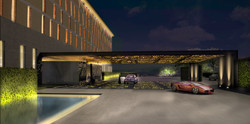 SOCIALIGHT HILTON CLEARWATER BAY SANYA Entrance 20110823