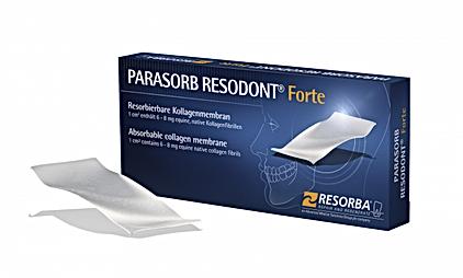 Membrana Resorba Resodont Forte, kolageny w stomatologii