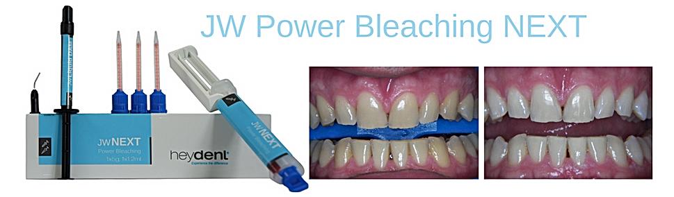 JW POWER BLEACHING GEL NEXT żel do wybielania laserowego, preparat do laserowego wybielania zębów