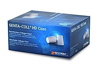 Genta-Coll, kolageny w stomatologii, stożki kolagenowe z antybiotykiem, resorba genta-coll