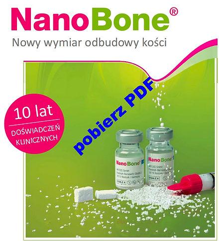 NanoBone broszura PDF