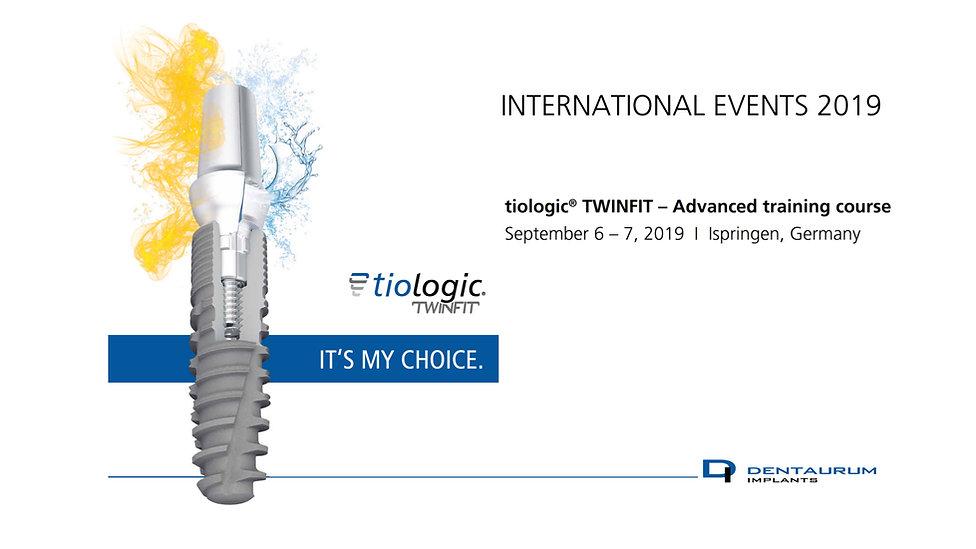 Szkolenie z implantologii z tioLogic Twinfit