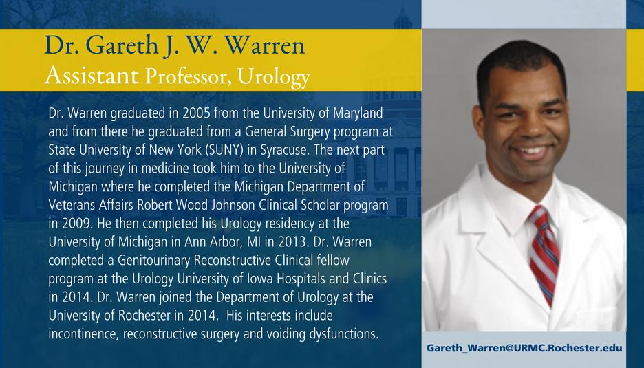 Dr. Gareth Warren