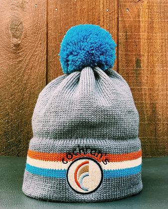 Cochran's Moriarity Hat, Blue Pom