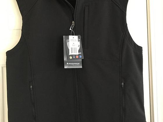 Vest, Incon SoftShell Vest, Black, Men's Medium, Brand: Propper - NEW