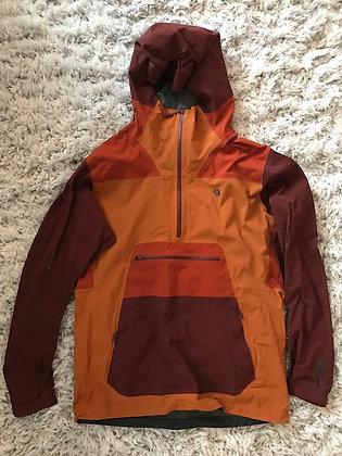 Mountain Hardware Paclite Stretch Pullover, Men's Large, Orange