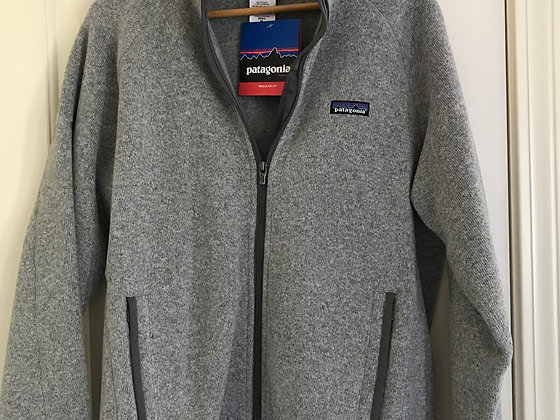 Patagonia Better Sweater Jacket, Gray, Men's Medium - NEW