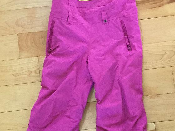 Burton Bib Snowpants - Youth XS, bright purple