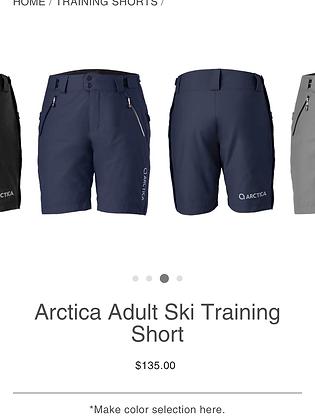 NWT Arctica training shorts, adult S, Ocean