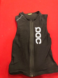 POC Backplate and vest. Size small