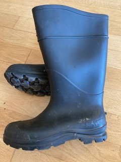 Mud boots, adult size, black