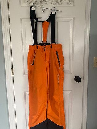 Arctica Orange Side Zip Pants (Ski Racer Clothing)