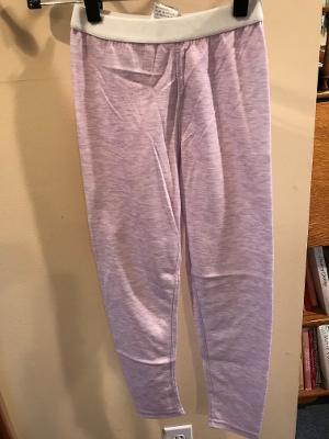 Junior Merino Wool Pants - Lavendar