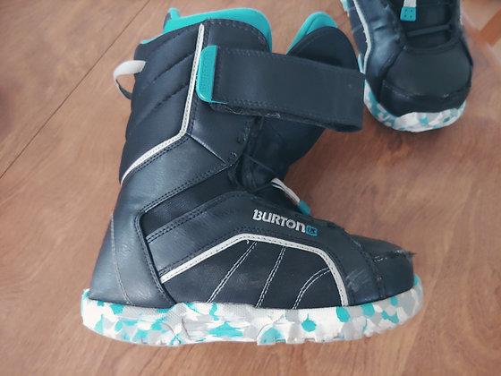 Burton Zipline Youth Size 4 Snowboard Boot