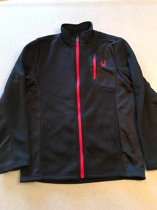 Spyder Jacket, Youth Medium, Black
