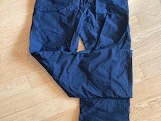 Snow pants, Women's size 38, black