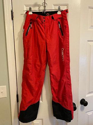 Arctica Red Side Zip Pants (Ski Racer Clothing)