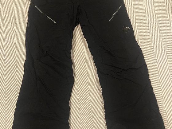 Mammut Women's Black Snow Pant - Size 10