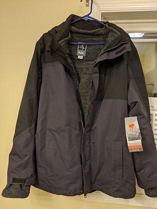 Pulse Waterproof 3-in-1 Convertible Jacket