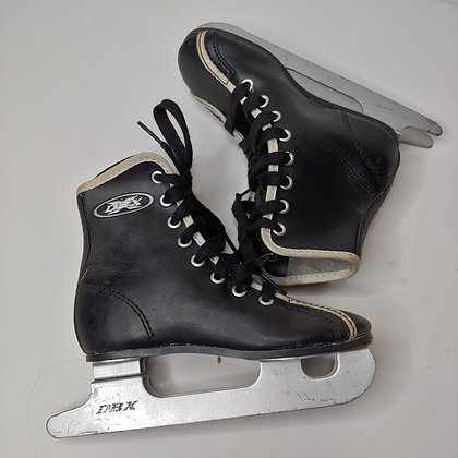 Kids Double Blade Lace-Up Ice Skates, Size 10 (toddler)