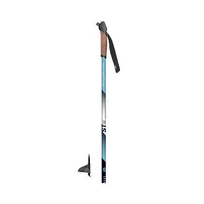 Alpina Tour Pole PLUS w/cork grip.  BLUE