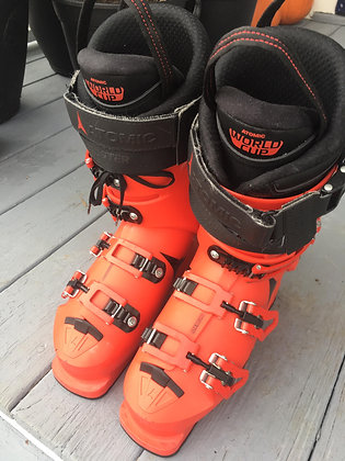 Atomic 2018 Adult Race Ski Boot Redster World Cup 130 (120*) 24.5 only used 4x