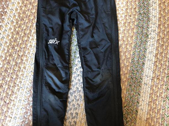 Swix junior xc ski pant, black