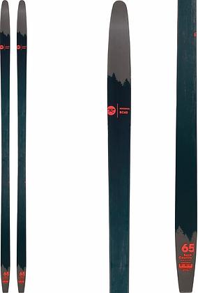 Rossignol BC 65 Ski w/METAL EDGES & NNN BC Binding 165cm