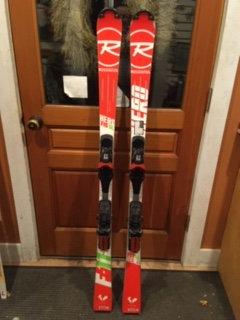 Rossi Hero 150 SL race skis