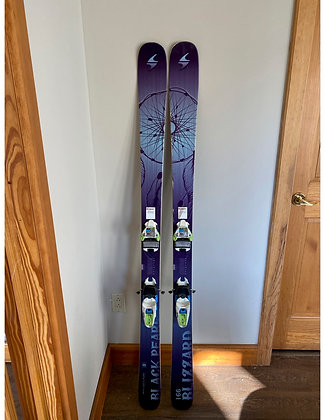 14-15 Blizzard Women's Black Pearl 88 Skis - 166cm with Marker Squire bindings