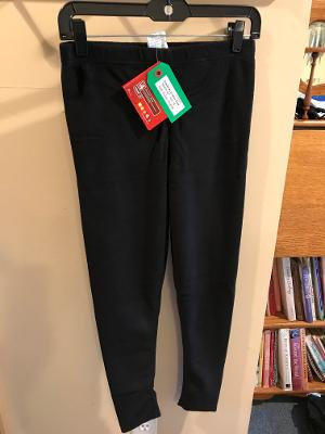Junior Merino Wool Pants - Black