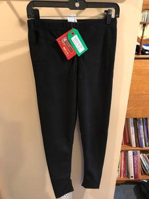 Junior Merino Wool Pants - Black