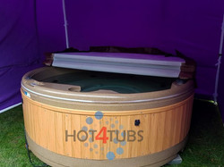 solid hot tub hire pontefract