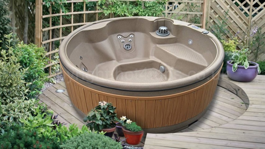 Hot tub gazebo hire
