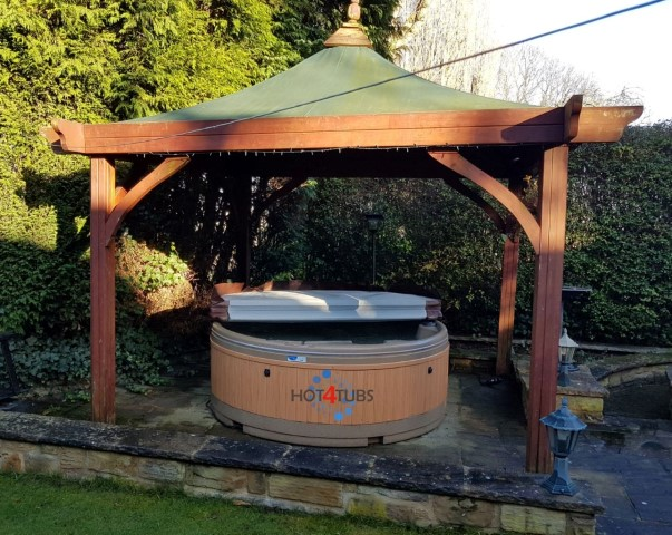 Hot tub hire pontefract