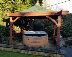 Hot tub hire pontefract