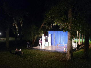 """Tickets Are Now On Sale for the Re-opening of """"THE BARD UNLEASHED"""" in the New  OUTDOOR Theatre"""