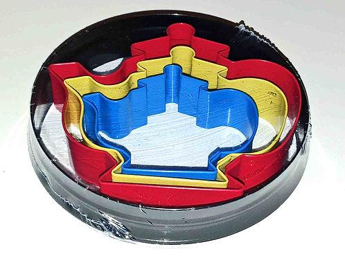 Teapot cookie cutter set