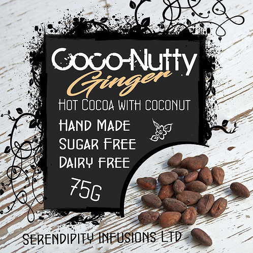 Coco-Nutty Ginger Instant Hot Chocolate