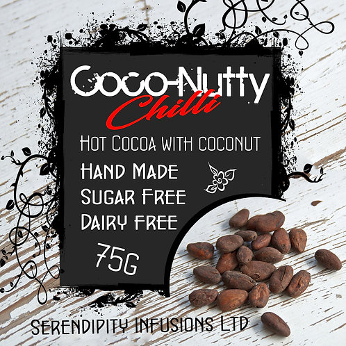Coco-Nutty Chilli Instant Hot Chocolate