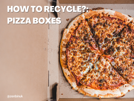 How do I recycle?: Pizza Boxes