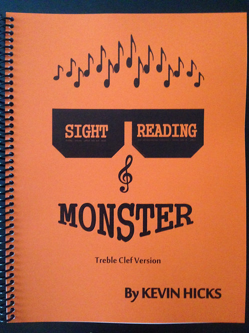 Sight Reading Monster - Treble Clef Version